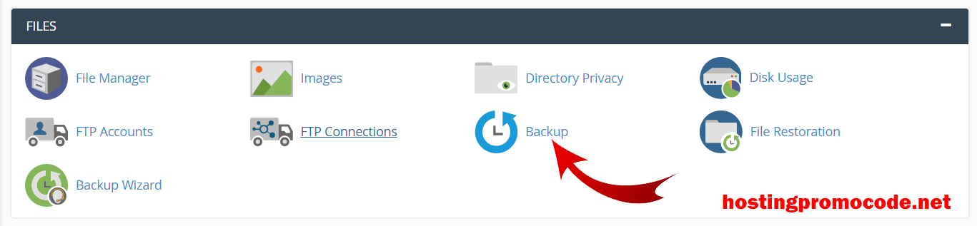 cpanel backup tool