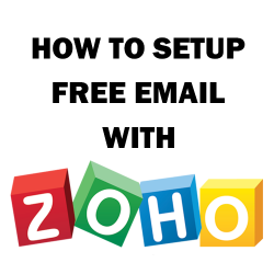 How to setup custom domain email with Zoho