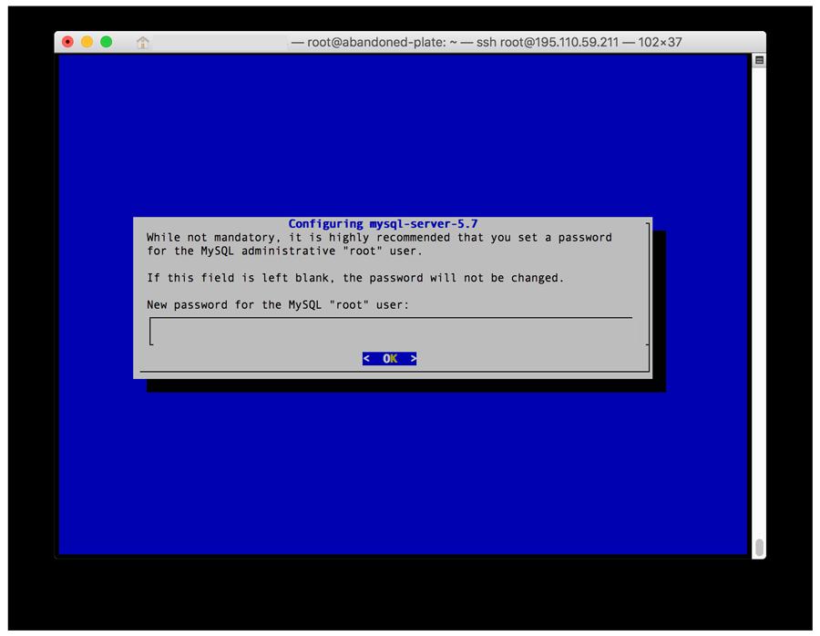 lamp ubuntu installing MySQL